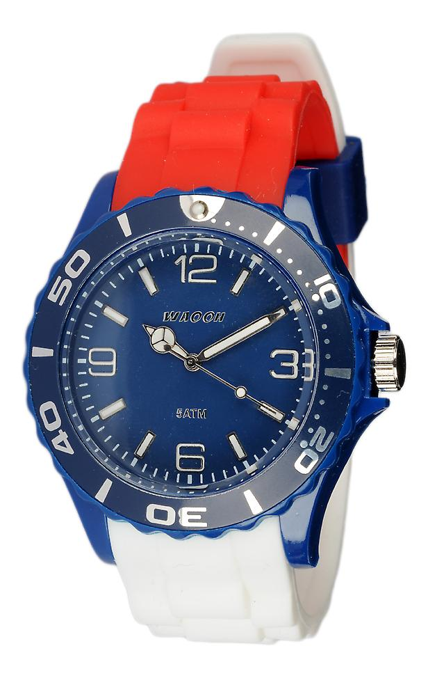 Waooh - Watch Silicone Drapeau Tricolore Russian MC42