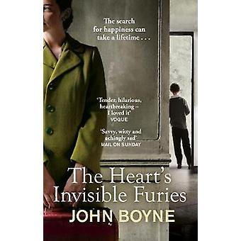 Invisível Fúrias o coração está por John Boyne - livro 9781784161002