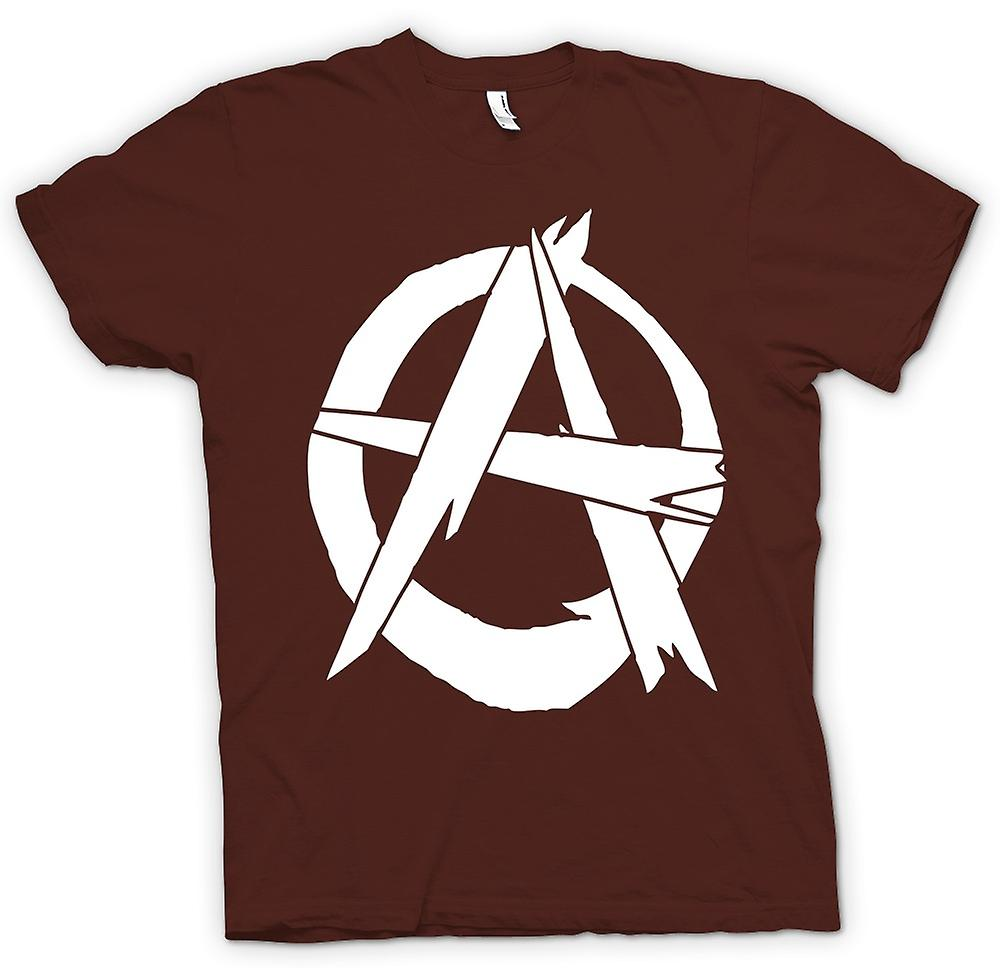 Mens t-skjorte - Anarchy - Punk