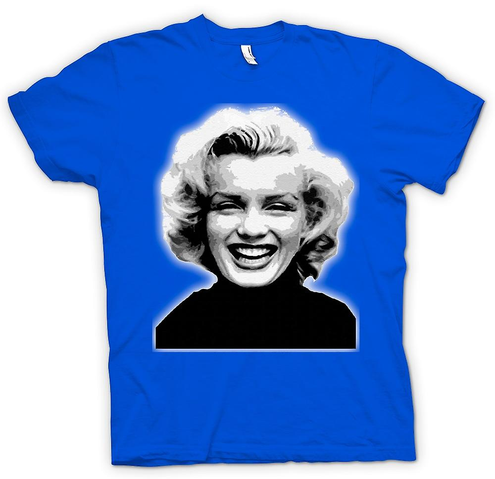 Hommes T-shirt - Marilyn Monroe - BW - Icon