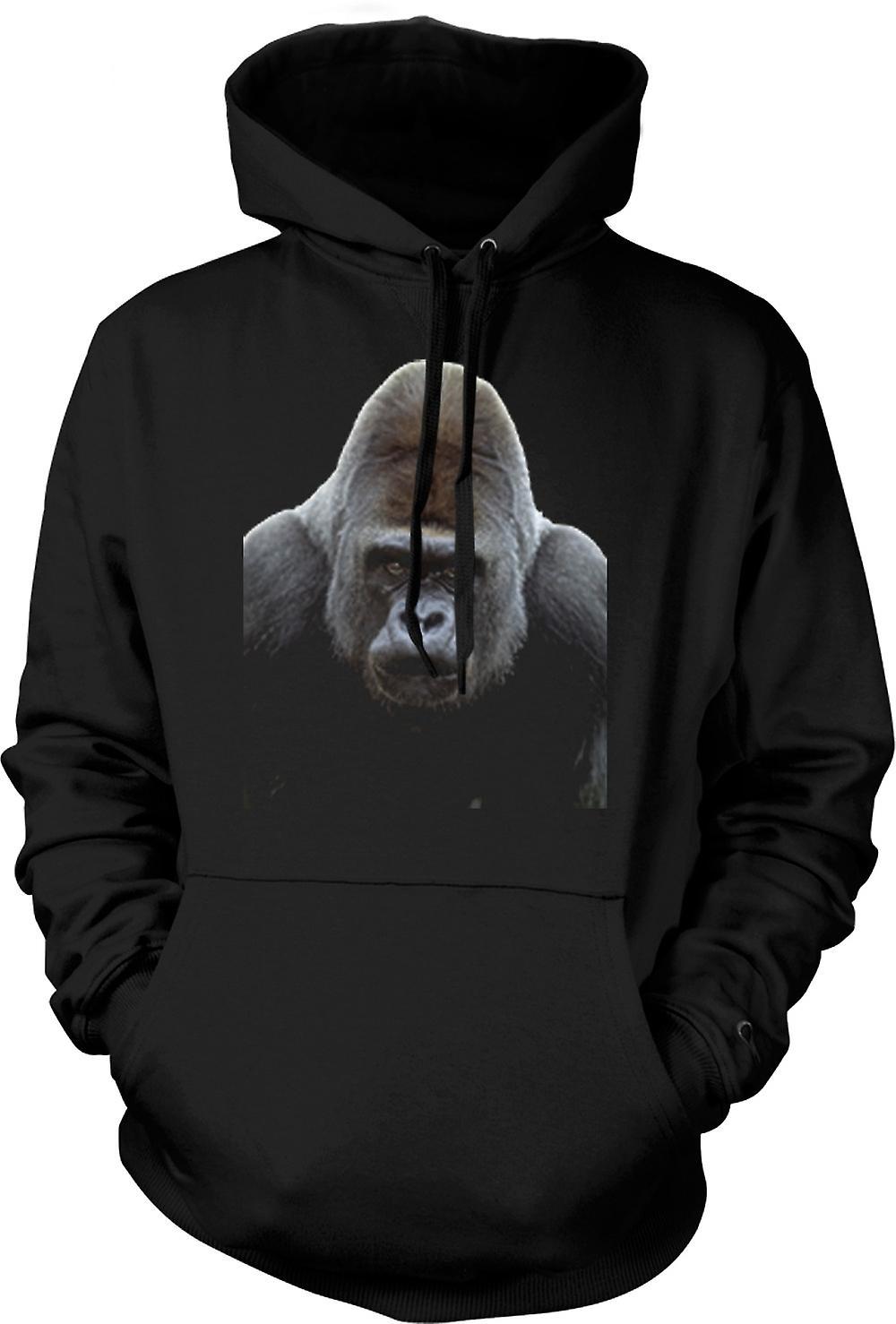 Kinder-Hoodie - Gorilla Silberrücken Portrait