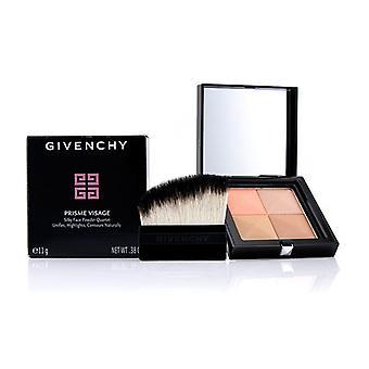 Givenchy Prisme Visage Silky Face Powder Quartet - # 7 Taffetas Caramel - 11g/0.38oz