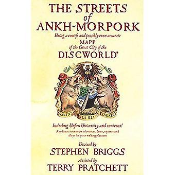 Las calles de Ankh Morpork: ser Concife y Mapp incluso precisa de la gran ciudad del Mundodisco: Universidad de Unfeen y alrededores! ...