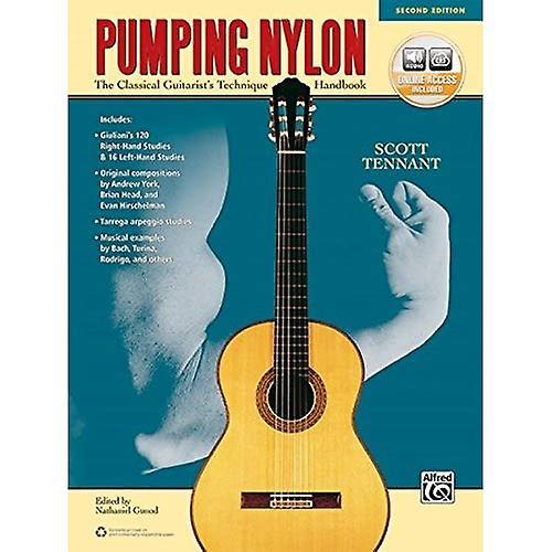 Pumping Nylon: A Classical Guitarist's Technique Handbook (Book & Online Audio)