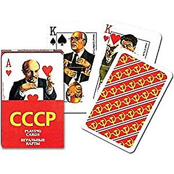 CCCP set of 52 playing cards + jokers  (gib)