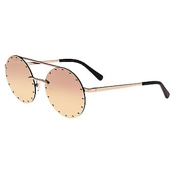 Bertha Harlow Polarized Sunglasses - Rose Gold