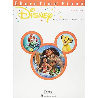 FABER PIANO ADVENTURES CHORDTIME PIANO DISNEY LEVEL 3B PIANO BOOK