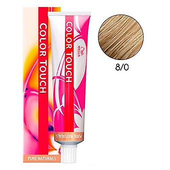 Wella Professionals Color Touch Pure Naturals 8/0 60 ml (Hair care , Dyes)
