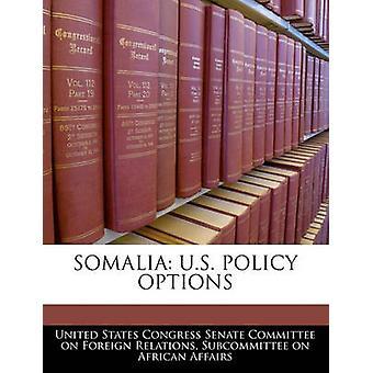 Somalië VS beleidsopties door Amerikaanse Senaatscommissie Congres