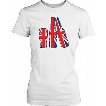 Store britiske øl - sjove damer T Shirt