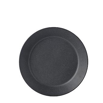 Mepal Bloom Melamine Deep Plate, Pebble Black