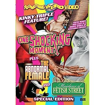 One Shocking Moment/Abnormal Female/Maidens of Fet [DVD] USA import