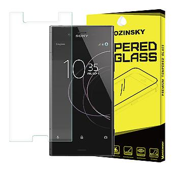 Screen Protector Sony Xperia XZ1 in tempered glass.