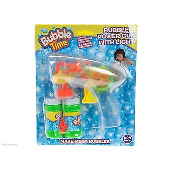 Bubble Time - Bubble Power Gun With Light