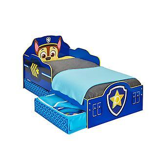Paw Patrol Chase peuter bed met opslag
