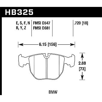 Hawk Performance HB325N.720 HP Plus
