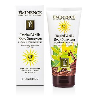 Eminence Tropical vanille corps SPF 32 147ml / 5oz