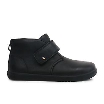 Bobux Kid+ Boys Desert School Boots Black