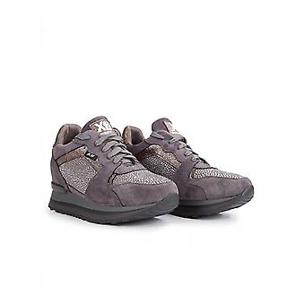 Xti Suedette Wedge Trainers