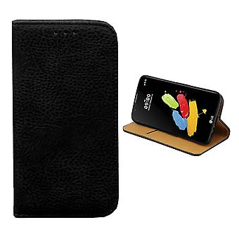 Libreria PU pelle Look for LG Stylus 2/Plus Black