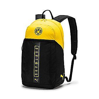 PUMA BVB Fan Backpack Zaino - Black-Cyber Yellow - UA