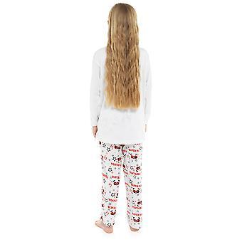 Jenter 100% bomull super Panda print Pyjama sett