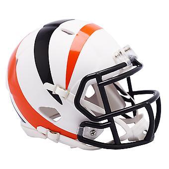 Riddell Speed Mini Football Helm - AMP Cincinnati Bengals