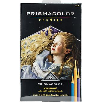 Prismacolor Premier Verithin Colored Pencil Set 36/Pkg- 2428