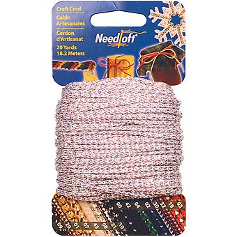 Needloft Novelty Craft Cord 20 Yards Iridescent Purple 550 55046
