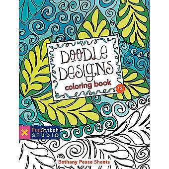 Funstitch Studio Doodle Designs Coloring Book Fss 20219