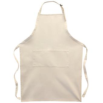 Natural Twill Large Adult Apron 24.75