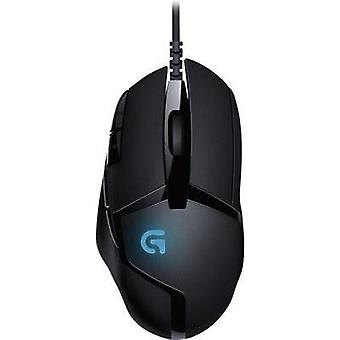 USB gaming mus Logitech G Black