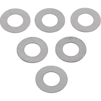 Steel Shim ring 6 mm 12 mm 0.2 mm 20 pc(s)