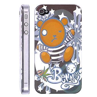 Benny bear cover, hard plastic, for iPhone 4/4s