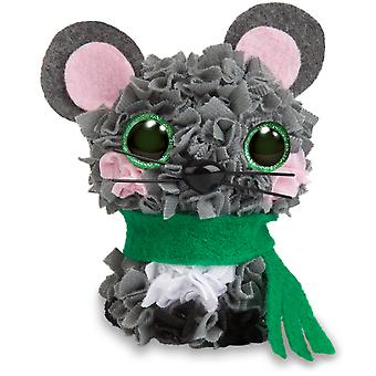 Plush Craft Fabric Fun Mini Kit-Mouse 76566