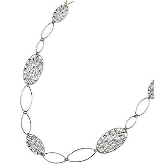 Sterling Silver Fancy Necklace - 39.3 Grams