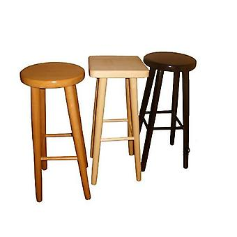 Parson Wooden Kitchen Breakfast Bar Stool Natural / Fully Assembled