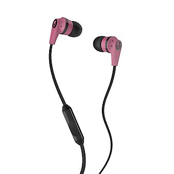 SKULLCANDY INKD Headphones Pink/Black In-Ear Mic