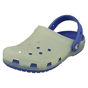 Childrens Crocs Slip op muildieren - Style - kameleons Trnslcnt Clg K