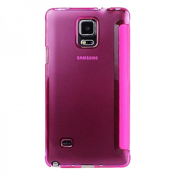 Smart cover window pink Samsung Galaxy touch 4 N910 N910F