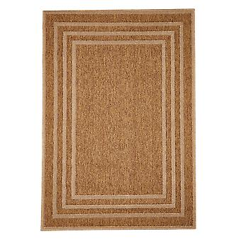 Naturlige geometrisk indendørs Flatweave tæppe - Floorit