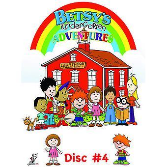 Betsys børnehave eventyr 4 [DVD] USA importerer