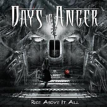 Days of Anger - Rise Above It All [CD] USA import