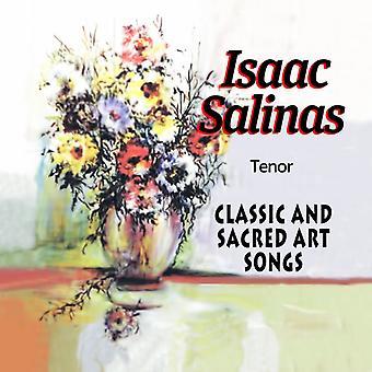 Isaac Salinas - Classic & Sacred Art låtar [CD] USA import