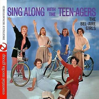 ベルエアーの女の子 - 青年 [CD] USA 輸入と Sing Along