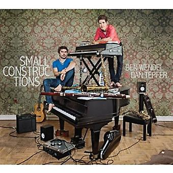 Dan Tepfer & Ben Wendel - Small Constructions [CD] USA import