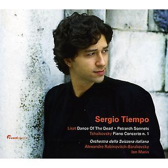 F. Liszt - Liszt: Dans for døde; Petrarca sonetter; Tjajkovskij: Klaver Concerto No. 1 [CD] USA importerer