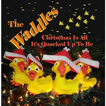 Waddles - Christmas Is All It's Quacked Up to Be [CD] USA import