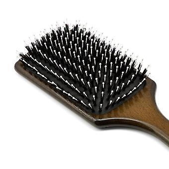 Boar Bristle Paddle Hair Brush 9047
