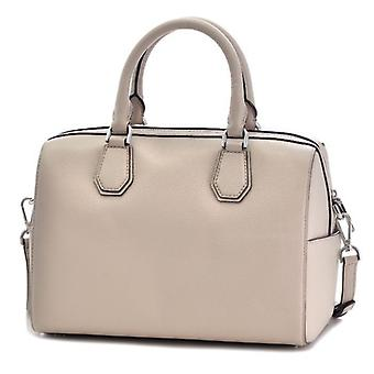Michael Kors Mercer Medium Leather Duffel - Cement - 30H6SM9U2L-092